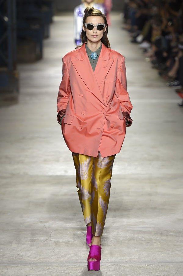 Chromatic Retro Fashion