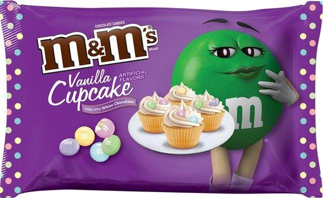 Pastel Cupcake-Flavored Candies