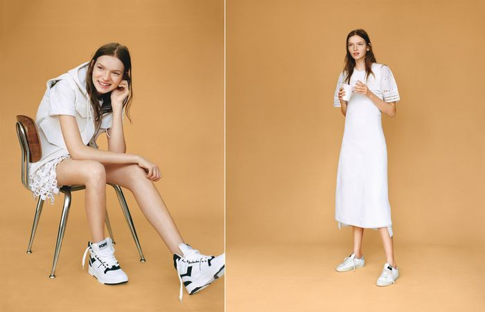 Feminine Activewear Editorials
