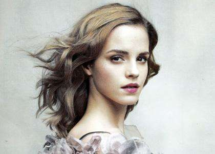 Emma Watson in Vanity Fair June 2010