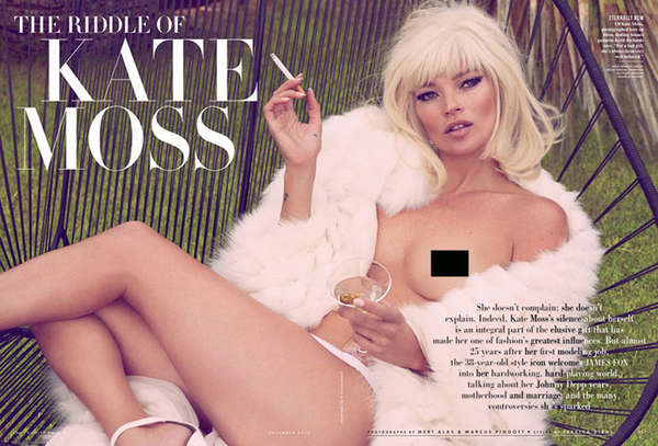 Vanity Fair 'The Riddle of Kate Moss'