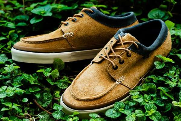 Moccasin-Inspired Skate Shoes