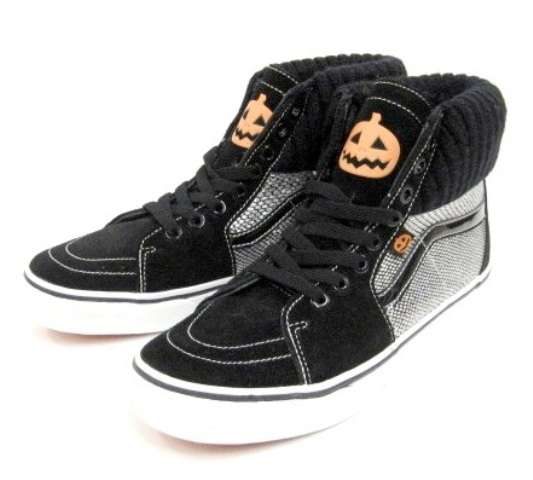 Spooky Skate Shoes