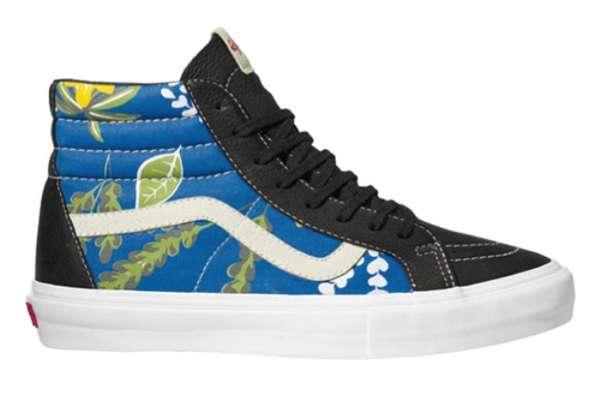 Floral Skate Shoes