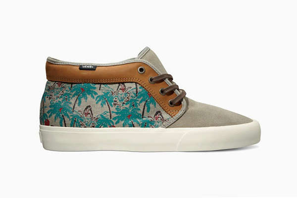 Hot Hawaiian Canvas Shoes
