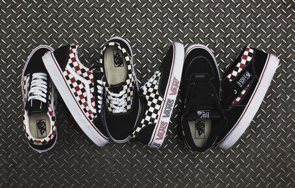Checkered Skateboard Sneakers