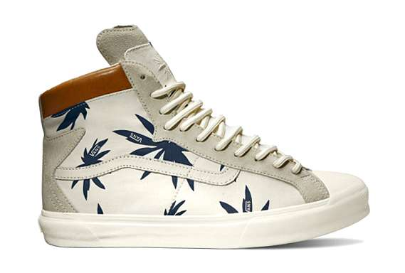 Palm Tree-Clad Sneakers