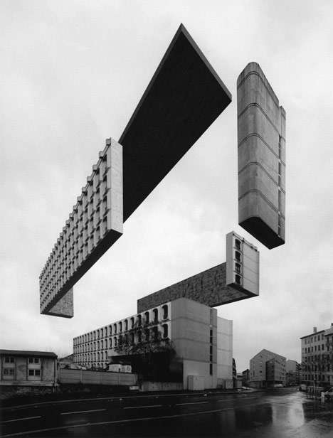 Sliced Levitating Buildings