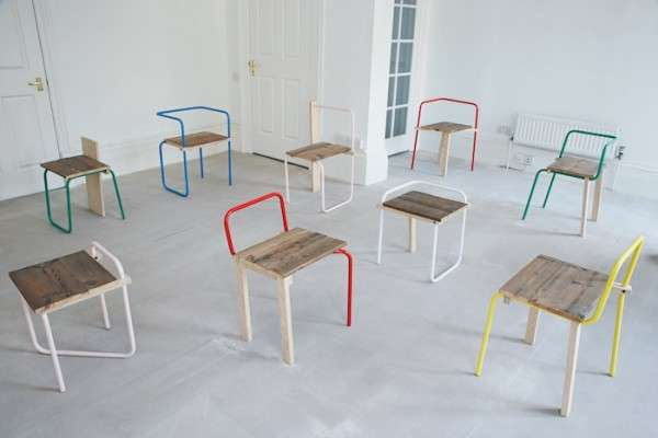Playful Pipe Furniture