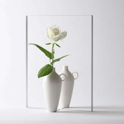 Mirrored Flower Holders