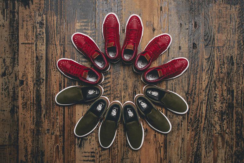 Wine-Colored Footwear