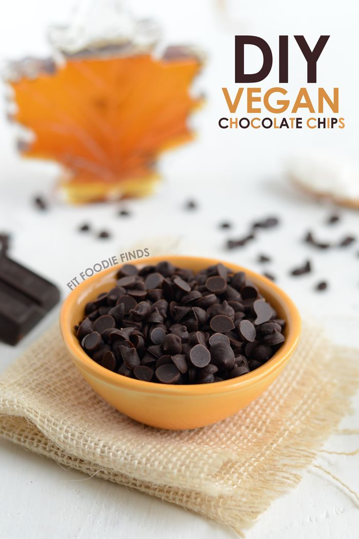 Vegan Chocolate Chip Recipes