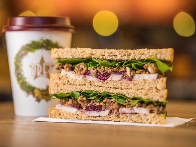 Festive Vegan Sandwiches