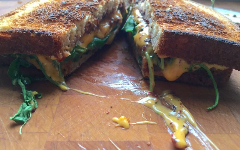 Vegan Cheese Sandwiches