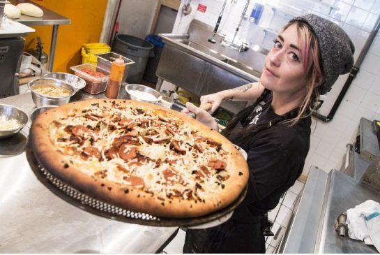 Overloaded Vegan Pizzas