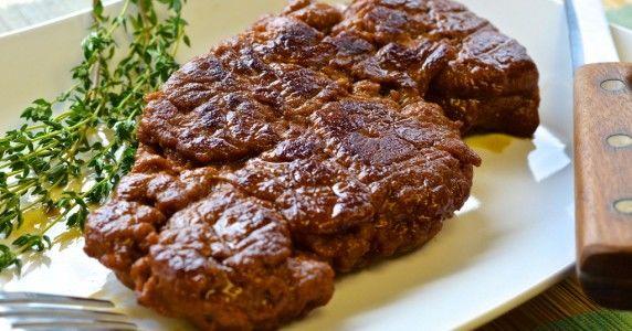 Wheat-Based Vegan Steaks