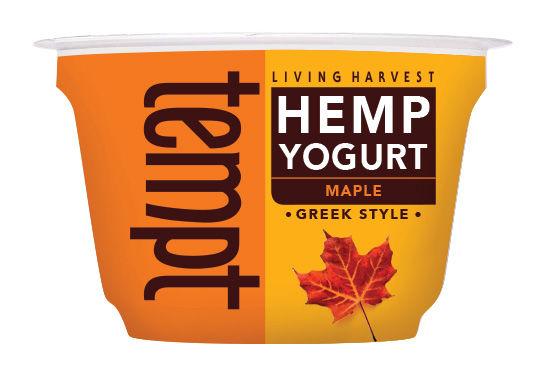 Flavored Hemp Yogurts
