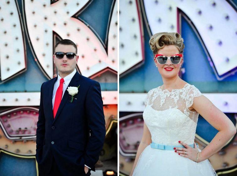 Retro Vegas Weddings