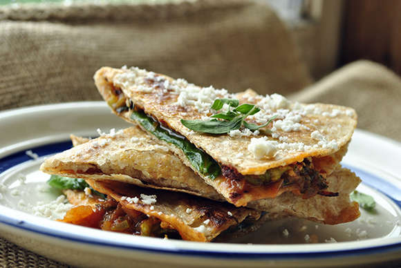 Healthy Alternative Quesadillas