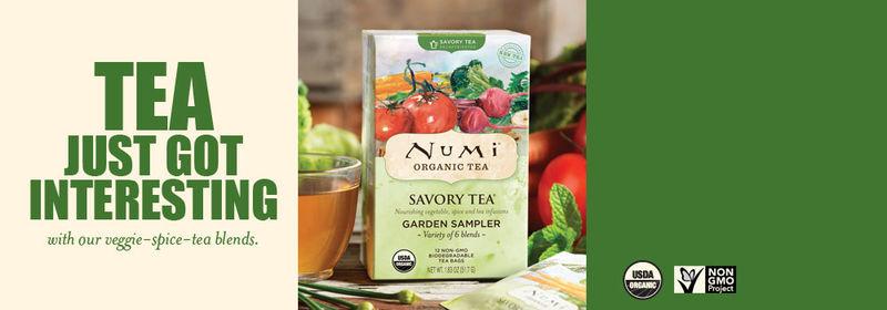 Savory Vegetable Teas