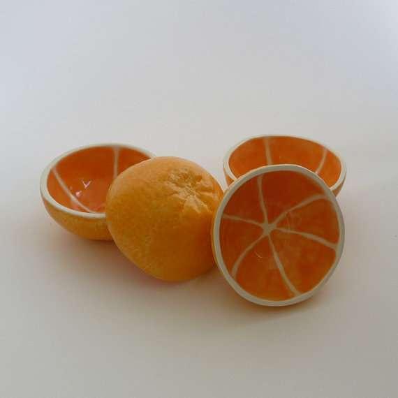 Fruit-Molded Pottery