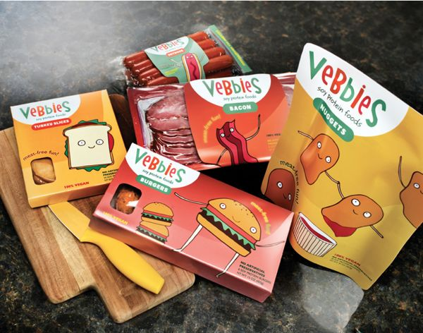 Adorable Veggie Packaging