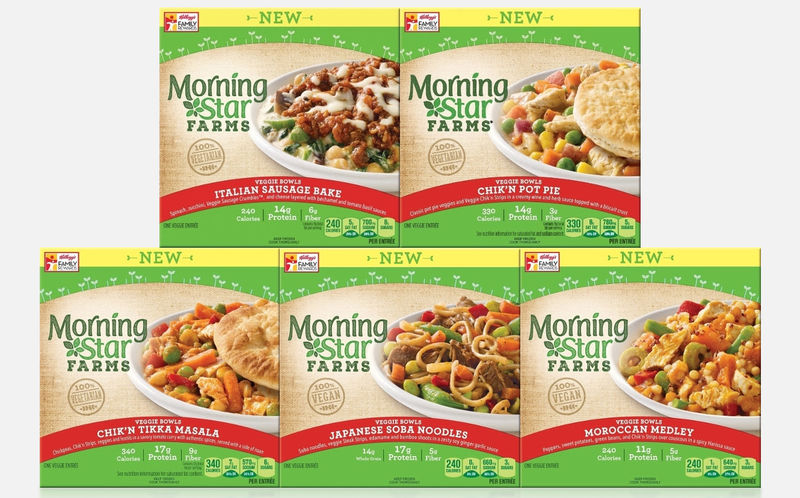 Vegetarian Microwaveable Meals