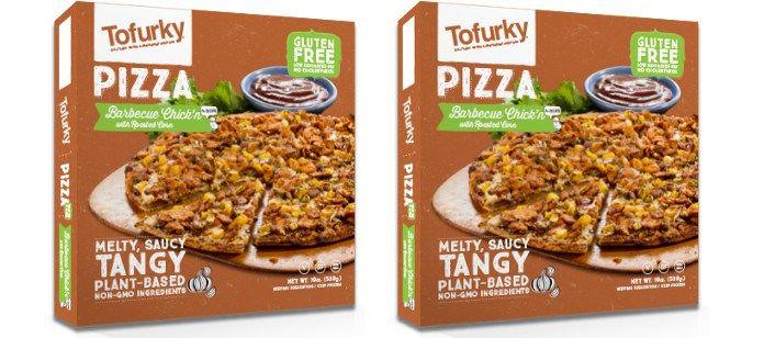 Gluten-Free Faux Meat Pizzas