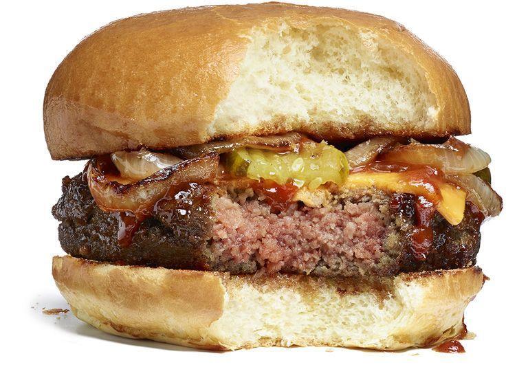 Bleeding Vegetarian Cheeseburgers