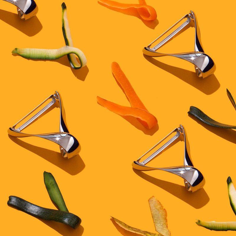 Handleless Veggie Peelers