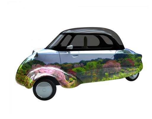 Funky Punker Bubble Cars