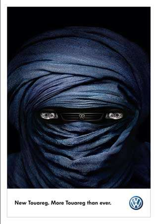 Veiled Print Ads
