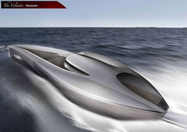 Bullet Train Yacht Concepts