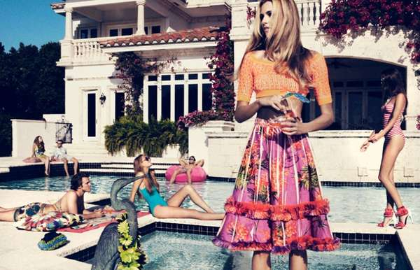 Pool Party Editorials