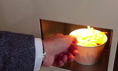 French Fry Vending Machines
