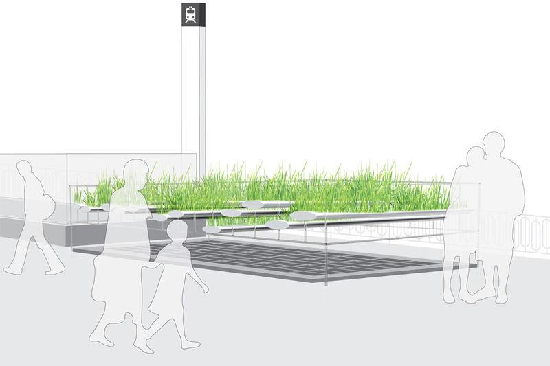 Subway Ventilation Gardens