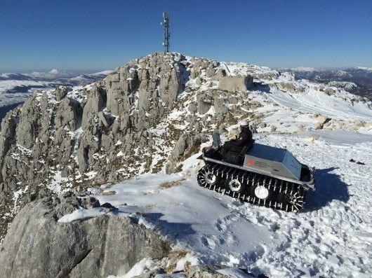 Antarctic Electric Vehicles