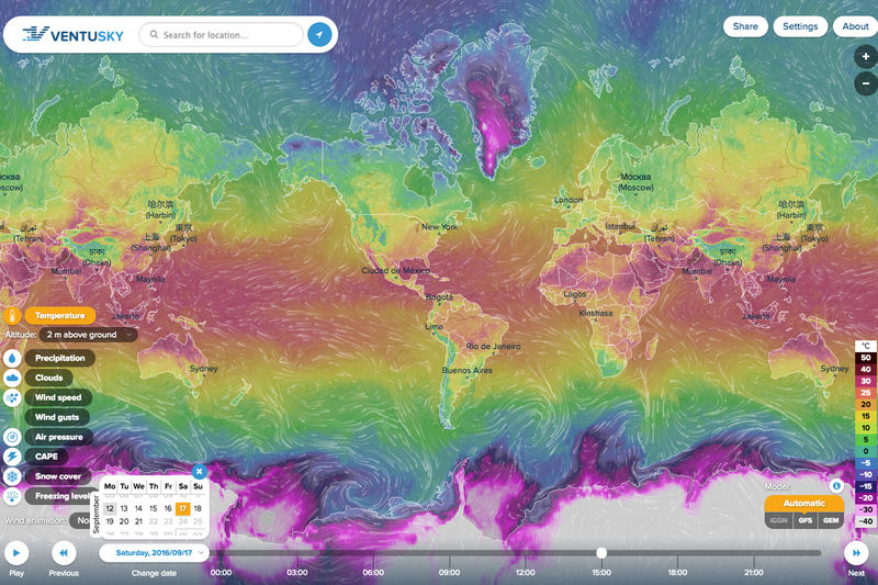 Real-Time Weather Visualizations