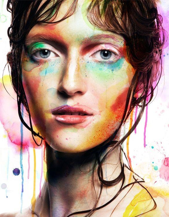 Watercolor Beauty Captures