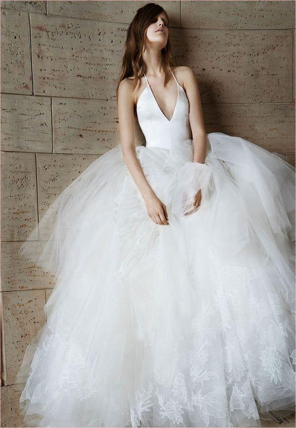 Ghostlike Wedding Gowns