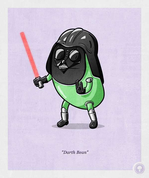 Pop Culture Produce Portraits