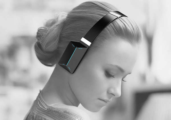 Hi-Tech Touch Headphones