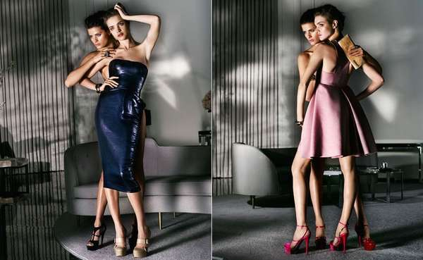 Fake Lesbian Fashion Ads