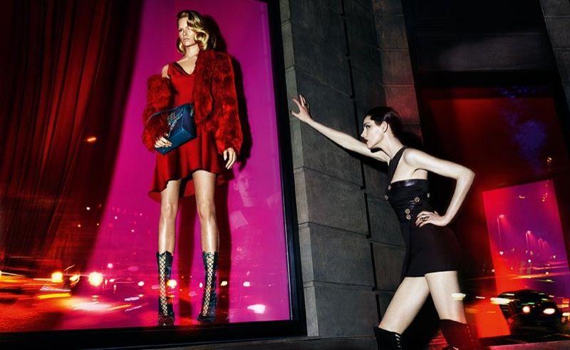 Glossy Neon Fashion Ads