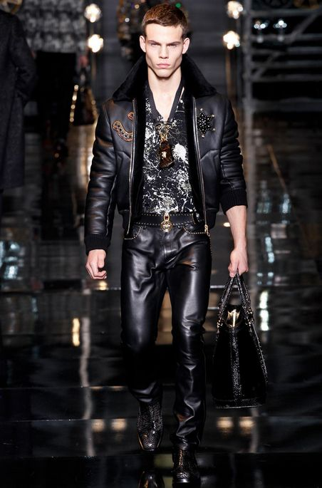 Versace Fall Winter 2014 menswear