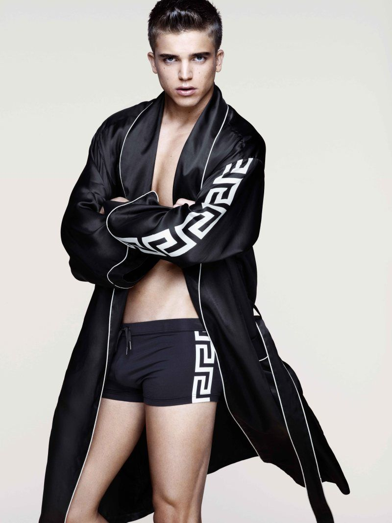 Versace for H&M Cruise 2012 Menswear Campaign