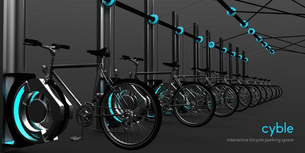 Hovering Bike Racks