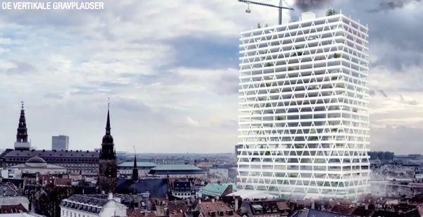 Futuristic Skyscraper Graveyards
