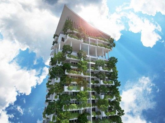 Vertical Garden building