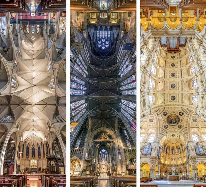 Panoramic Church Photographs : Vertical Panoramic